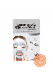 Кислородная тканевая маска для лица Labute Clear Bubble Charcoal Mask.