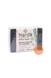 Мыло-детокс с бамбуковым углём Narda.