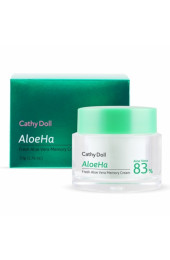 Корейский крем с алоэ 83%. Cathy Doll AloeHa Memory Cream.