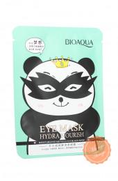 Тканевая маска для век Панда Bioaqua.