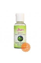 Мини версия шампуня от выпадения волос  с синим чаем Джинда.  Jinda Herbal Hair Shampoo.