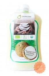 Кокосовое масло первого холодного отжима Тропикана 1000 мл. Tropicana virgin coconut oil.