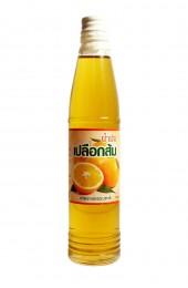 Натуральное пищевое апельсиновое масло, настоянное на кунжутном.