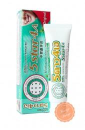 """Концентрированная отбеливающая зубная паста """"5star4a""""."""